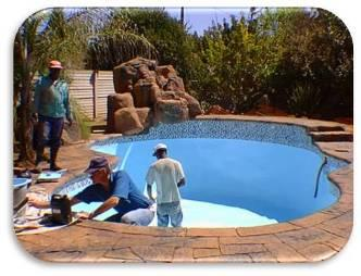 DIY Pool Paint Solution
