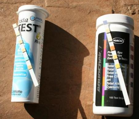 Pool Water Test Strips